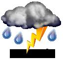 Thundery shower
